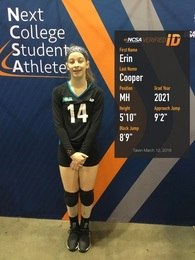 Erin Cooper's Women's Volleyball Recruiting Profile