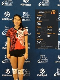 Asja Deai's Women's Volleyball Recruiting Profile