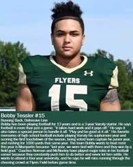 Bobby Tessler's Football Recruiting Profile