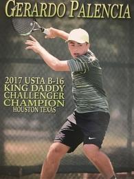 Gerardo Palencia's Men's Tennis Recruiting Profile