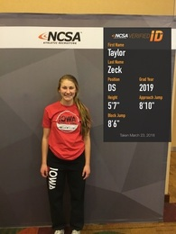 Taylor Zeck's Women's Volleyball Recruiting Profile