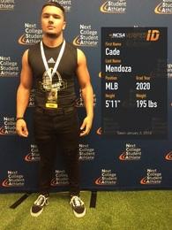 Michael (Cade) Mendoza's Football Recruiting Profile