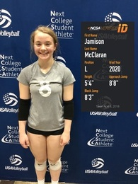 Jamison McClaran's Women's Volleyball Recruiting Profile