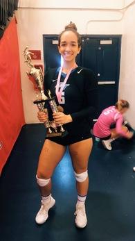 Alennys Taveras's Women's Volleyball Recruiting Profile