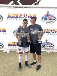 Luis Zazueta's Men's Soccer Recruiting Profile
