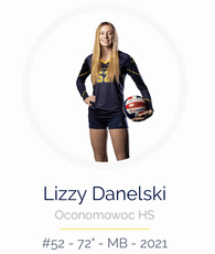 Elizabeth Danelski's Women's Volleyball Recruiting Profile