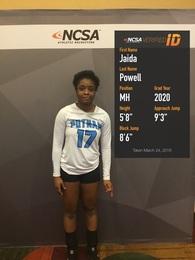 Jaida Powell's Women's Volleyball Recruiting Profile