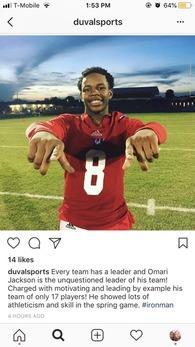 Omari Jackson's Football Recruiting Profile