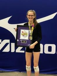 Claudia Johnson's Women's Volleyball Recruiting Profile