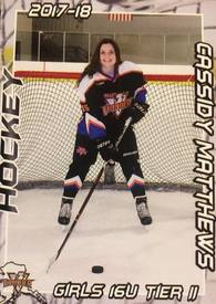 Cassidy Matthews's Women's Ice Hockey Recruiting Profile
