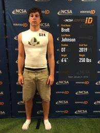Brett Johnson's Football Recruiting Profile