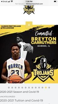 Breyton Caruthers's Men's Basketball Recruiting Profile