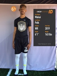 Makai Polk's Football Recruiting Profile
