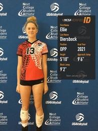 Ellie Diersbock's Women's Volleyball Recruiting Profile