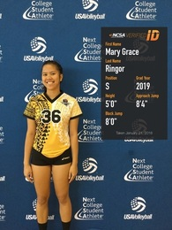 Mary Grace Ringor's Women's Volleyball Recruiting Profile