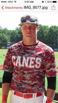 Garrett Huff's Baseball Recruiting Profile