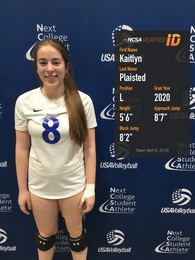 Kaitlyn Plaisted's Women's Volleyball Recruiting Profile