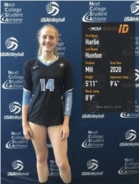 Harlie Hunton's Women's Volleyball Recruiting Profile