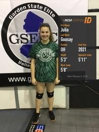 Julia Goosay's Women's Volleyball Recruiting Profile