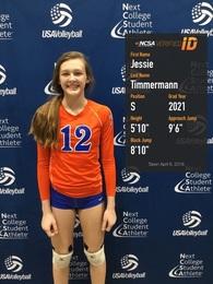 Jessie Timmermann's Women's Volleyball Recruiting Profile