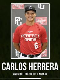 Carlos Herrera's Baseball Recruiting Profile