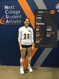 Leyla Ochoa's Women's Volleyball Recruiting Profile