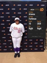 Arianna Forthman's Softball Recruiting Profile