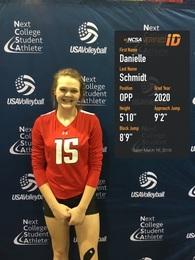 Danielle Schmidt's Women's Volleyball Recruiting Profile