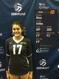 Olivia Ashley's Women's Volleyball Recruiting Profile