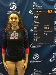 Mya Young's Women's Volleyball Recruiting Profile