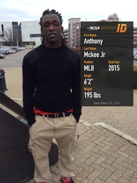 Anthony Mckee jr's Football Recruiting Profile