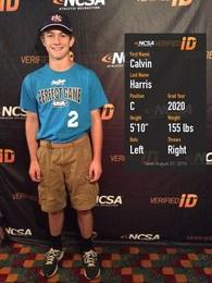 Calvin Harris's Baseball Recruiting Profile