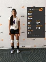 Miah Perez's Women's Volleyball Recruiting Profile