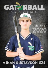 Mikah Gustavson's Baseball Recruiting Profile