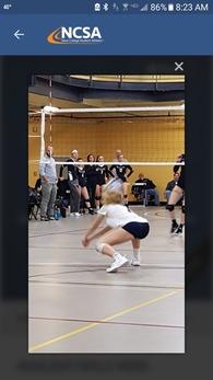 Kanann Gemmill's Women's Volleyball Recruiting Profile