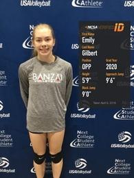 Emily Gilbert's Women's Volleyball Recruiting Profile