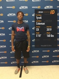 Tyrell Coleman's Football Recruiting Profile