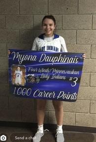 Myona Dauphinais's Women's Basketball Recruiting Profile