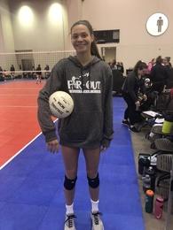 Claudia Kingma's Women's Volleyball Recruiting Profile