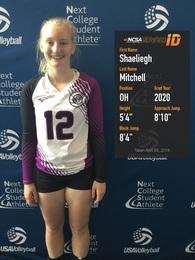 Shaeliegh Mitchell's Women's Volleyball Recruiting Profile