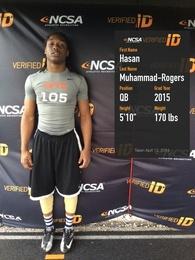 Hasan Muhammad-Rogers's Football Recruiting Profile
