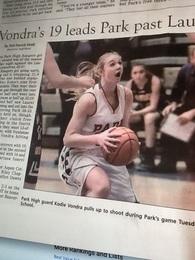 Kodie Vondra's Women's Basketball Recruiting Profile