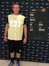 Tyler Harris's Football Recruiting Profile