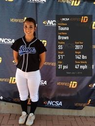 Tiauna Brown's Softball Recruiting Profile