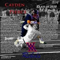 Cayden Pierce's Football Recruiting Profile
