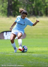 Fernanda Valencia's Women's Soccer Recruiting Profile