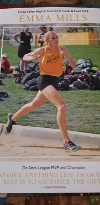 Emma Mills's Women's Track Recruiting Profile