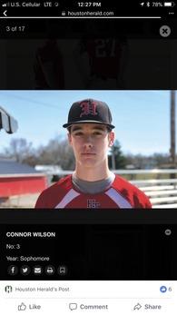 Connor Wilson's Baseball Recruiting Profile
