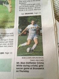Emma White's Women's Soccer Recruiting Profile