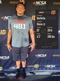 Qorticha Glenn jr's Football Recruiting Profile